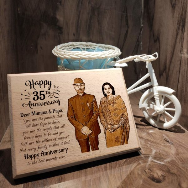 Customized Anniversary Gift for Parents