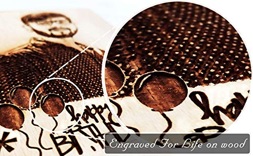 Engraved for Life on Wood