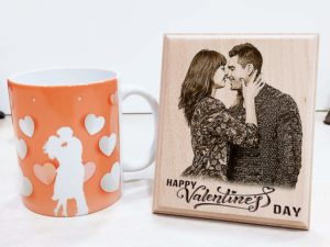 Valentine's day Combo Personalized Engraved Photo Fram...