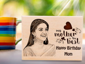Mom's Birthday Personalized Engraved Photo Plaque Gift...