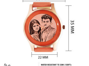 Personalized Engraved Stylish Photo Wrist Watch For Girls or Woman
