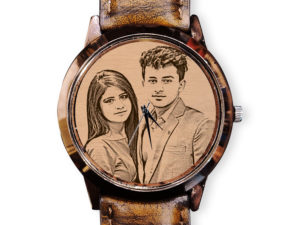 Personalized Engraved Stylish Photo Wrist Watch For Boys or ...