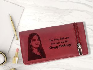 RFID Protected Personalized Photo Wallet For Girls or Woman ...
